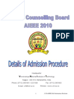 Detail Admission Procedure