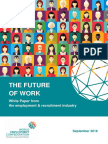 WEC the Future of Work What Role for PrES