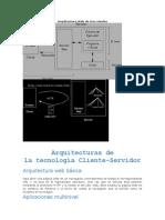 Arquitectura Web de Tres Niveles