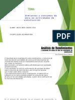 1- Análisis de Rendimientos y Consumos de La Mano de Obra en Actividades de Construcción-MIGUEL SARAVIA CUEVA