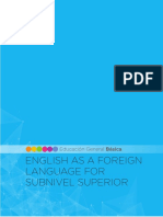 EFL for Subnivel Superior of EGB Ok