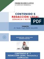 Redacción Legal