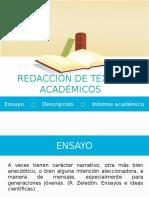 Redacción de Textos Academicos