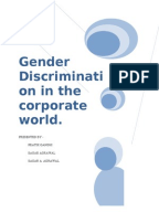 gender discrimination research papers