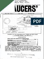 SAUCERS - Vol. 3, No. 2 - June 1955