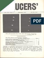 SAUCERS - Vol. 3, No. 3 - September 1955