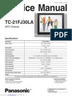 Panasonic Tc 21 Fj 30 La