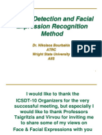 A Face Detection and Facial Expression Recognition Method - Dr. Nikolaos Bourbakis