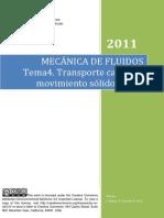 Tema 4 - Transporte Cantidad de Movimiento Solido - Fluido