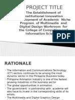 The Establishment of Institutional Innovation Development of Academic