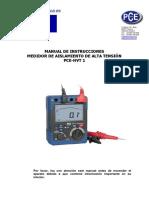 Manual PCE HVT1