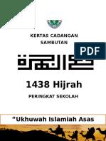 KERTAS CADANGAN Sambutan Maal Hijrah 1438 06102016