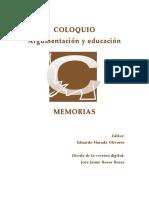 ¿Cómo desarrollar la competencia argumentativa por medio de actividades? -- ARTURO HERNÁNDEZ SÁNCHEZ--  Instituto de Educación Media Superior del D.F.