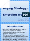 Buying Strategy