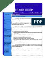 Standards Bulletin 4th Quarter 2014