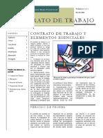 BOLETÍN I - CONTRATO DE TRABAJO Y SU SUSPENSIÓN - Autor José María Pacori Cari