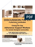 Adherence Support Worker_Discussion Paper