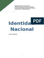 Identidad Nacional (Venezuela)