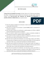 RES TEEU-014-2016 Reactivación de Proceso de Revisión de Requisitos
