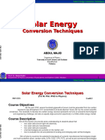 Solar energy conversion techniques.ppt