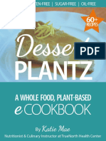 Plant z Dessert Cookbook