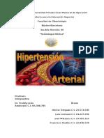 Trabajo Sobre Hipertension Arterial Listo
