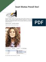 Cara Membuat Sketsa Pensil Dari Foto.docx