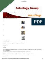 (1) Vedic Astrology