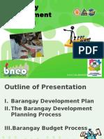 Barangay Development Planning