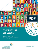 WEC the Future of Work - What Role for the Employment Industry
