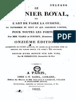 Le Cuisinier Royal - M.M. Viard et Fouret(1822)
