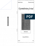01- JAMENSON - El posmodernismo y lo visual - 1992.pdf
