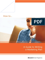 How2Marketing Plan