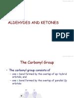 1. Aldehydes and Ketones