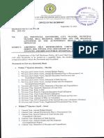 Full Disclosure Policy DILG Memorandum Circular 2011-134