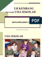 TUMBUH KEMBANG Anak Usia Sekolah