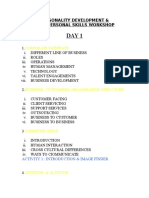 Personality Development Workshop  High Quality Training Material for Free
