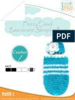Fleecy Cloud Beanie and Sleeping Bag by IraRott