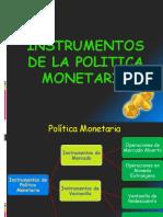 Politica_monetaria e Instrumentos