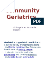 .Geriatric Community
