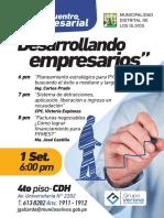 IForoEmpresarial LosOlivos 1.9.16