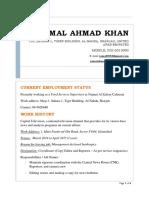 CV - JAMAL AHMAD KHAN