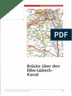 Bruecke Ueber Den Elbe Luebeck Kanal 2002 Auszug