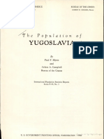 The Population of Yugoslavia 1954