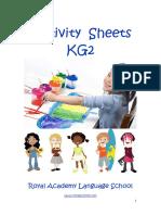 Activity Sheets KG2