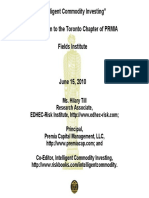 Till PRMIA Toronto Presentation June 15 2010