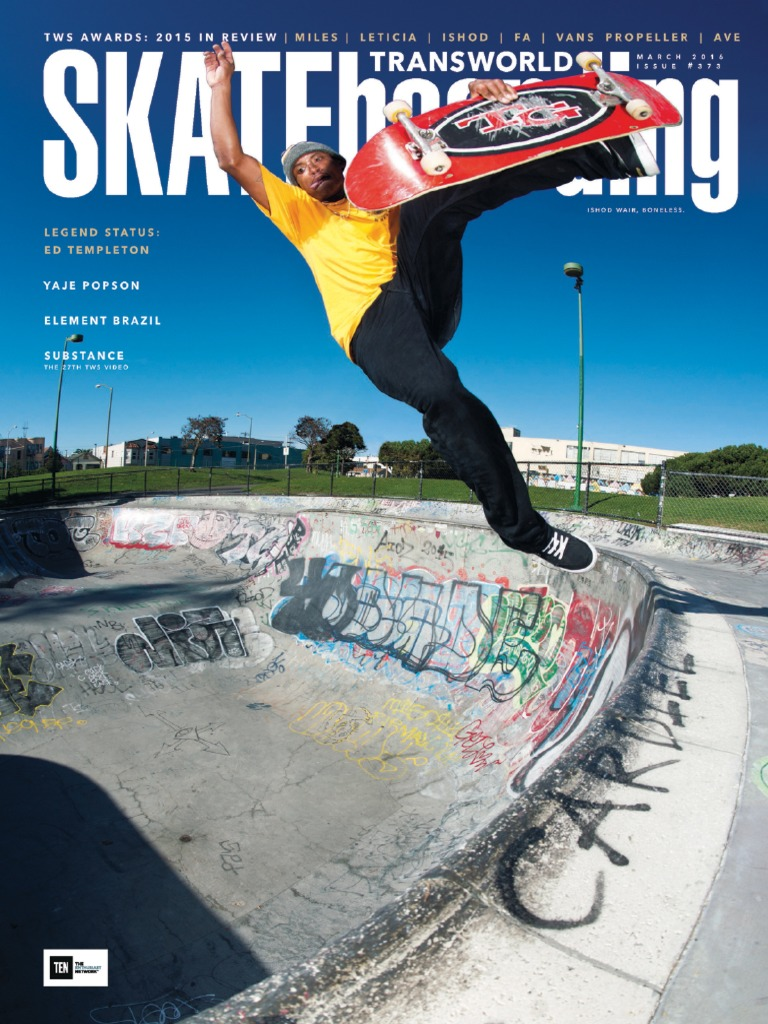 d2dc662dfbc4b9 Transworld Skateboarding - March 2016  SilentNewb