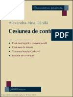 Cesiunea de Contract 2010