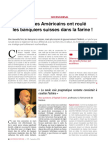 Interview Raphael H Cohen Sur La Strategie Americaine Pour Les Avoirs Defiscalises - Gestion de Fortune Sept 2016