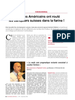 Interview Raphael H Cohen Sur La Strategie Americaine Pour Les Avoirs Defiscalises - Gestion de Fortune Sept 2016